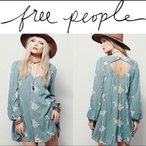 FREE PEOPLE Embroidered Austin Mini Dress